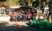 Καθαρισμός στο πάρκο Αλεξιάδου