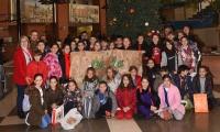 Ευχές και δώρα από τα παιδιά του DelaSalle