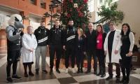 Η ομάδα του ΠΑΟΚ επισκέφτηκε το Νοσοκομείο Παπαγεωργίου